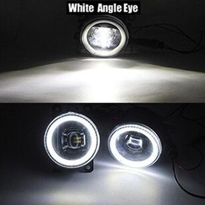 オペル ティグラ ツイントップ フォグランプ LED イカリング DRL 4000ルーメン