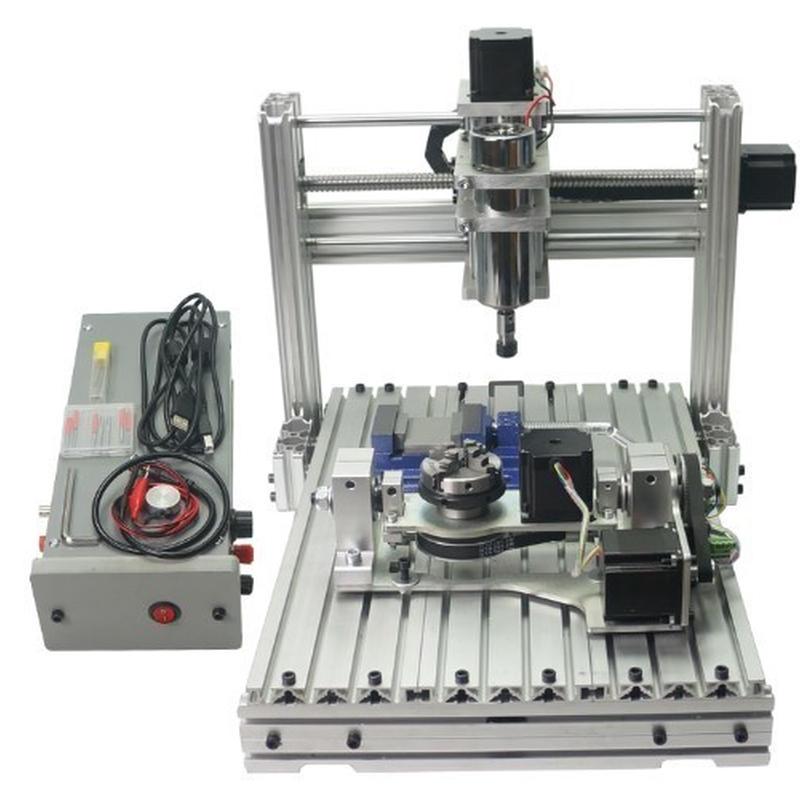 CNC3040 USB フライス ルーター 5軸 DIY  ER11 ボールねじ