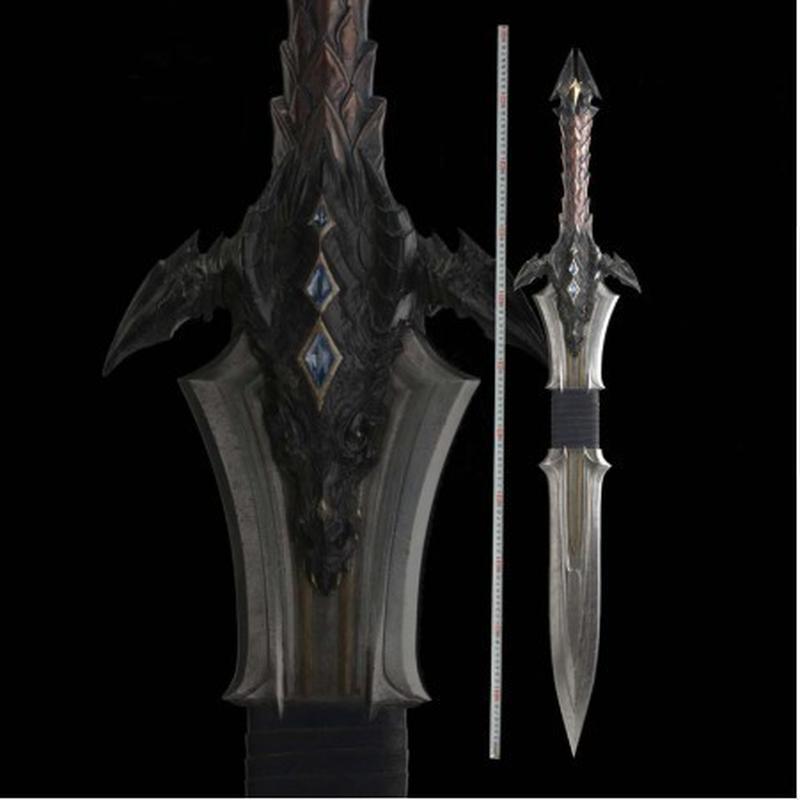 模造刀 輸入 ロングソード 110cm ステンレス Anduin Lothar コスプレ コレクション
