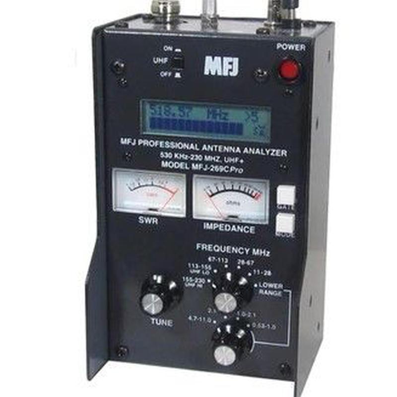 MFJ-269C PRO アマチュア無線 アンテナアナライザー SWRアナライザー