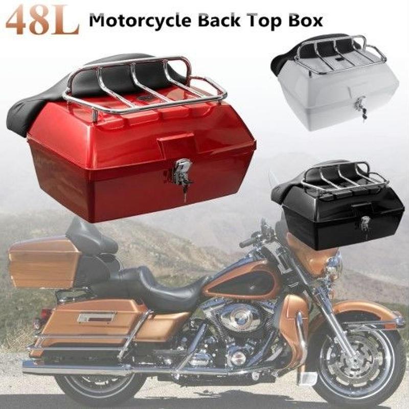 リアボックス 便利 48L 背もたれ付き バイク スクーター カラー選択可能