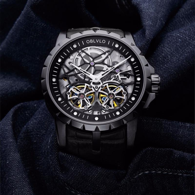 ミリタリーウォッチ コスパ オマージュウォッチ OBLVLO  腕時計 エクスカリバースタイル