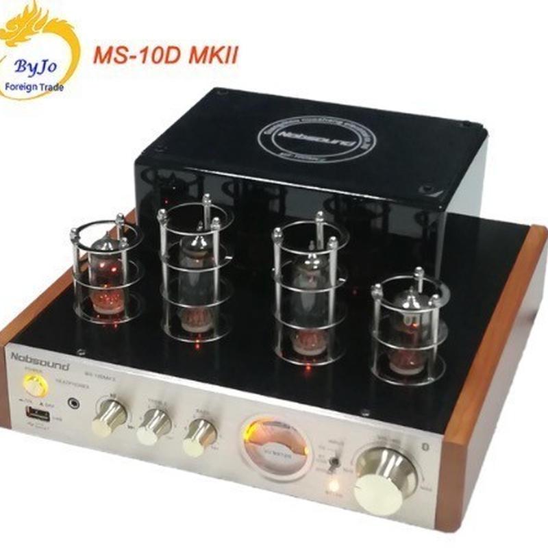 Nobsound MS-10D 真空管アンプ Bluetooth ブルートゥース  ヘッドホン