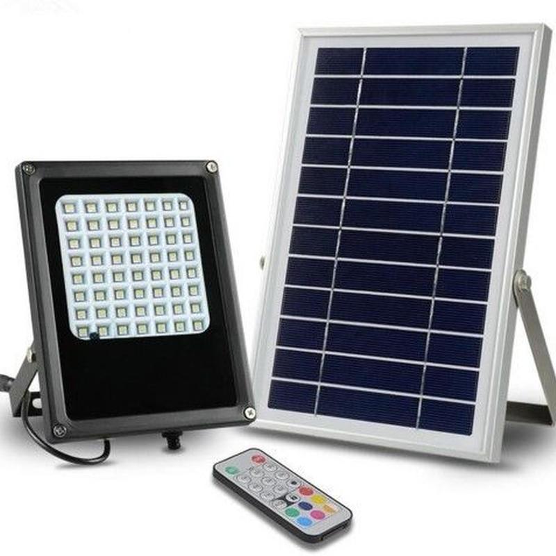 庭 スポットライト led ソーラー 6V 6W 7色変更可