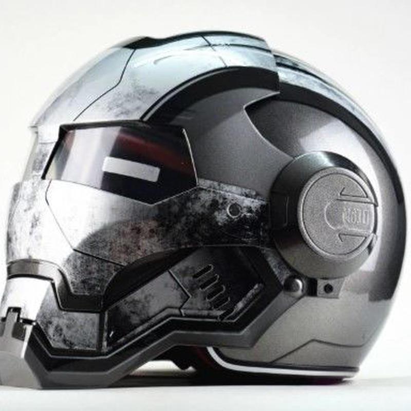フルフェイス ヘルメット 海外 アイアンマンタイプ ウォーマシン  アメコミ コスプレ 2色あり