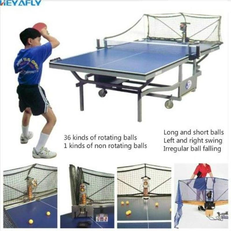 卓球 トレーニング 自動サーブマシン ボール回収ネット付き 練習用