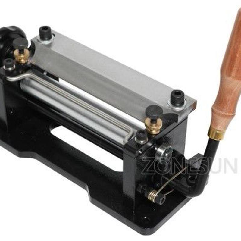 DIY  レザースプリッター 革漉き マニュアル