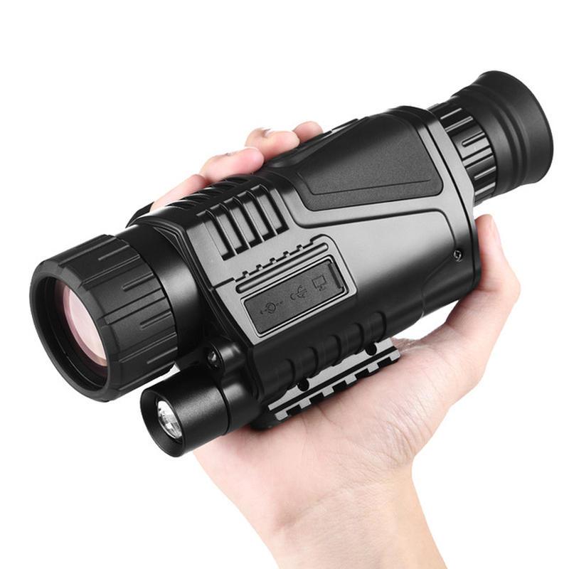 【送料無料!】光学デジタル IR ナイトビジョン ナイトスコープ ミリタリー 単眼鏡 望遠鏡 スコープ 暗視カメラ ビデオ 赤外線 200m