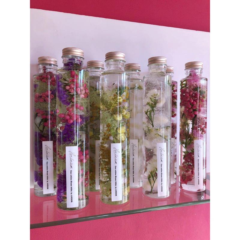Herbarium(ハーバリウム)花の標本(ミックス・ロングボトル)