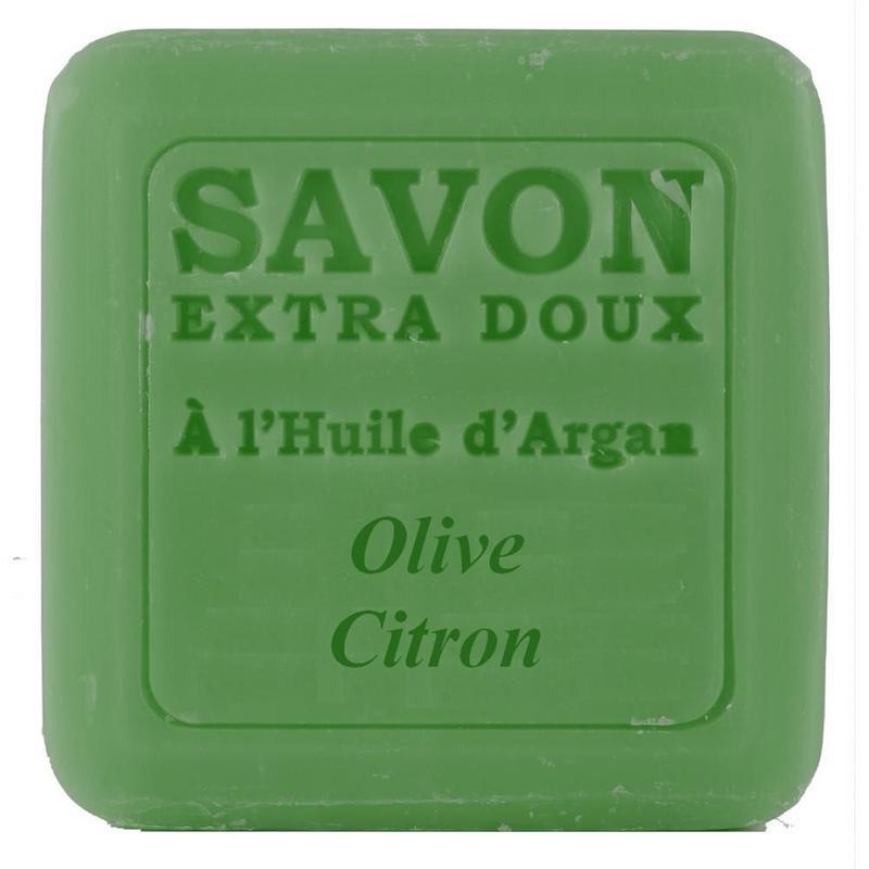 アルガンオイルソープ 100g オリーブレモン -Plantes&Parfums-