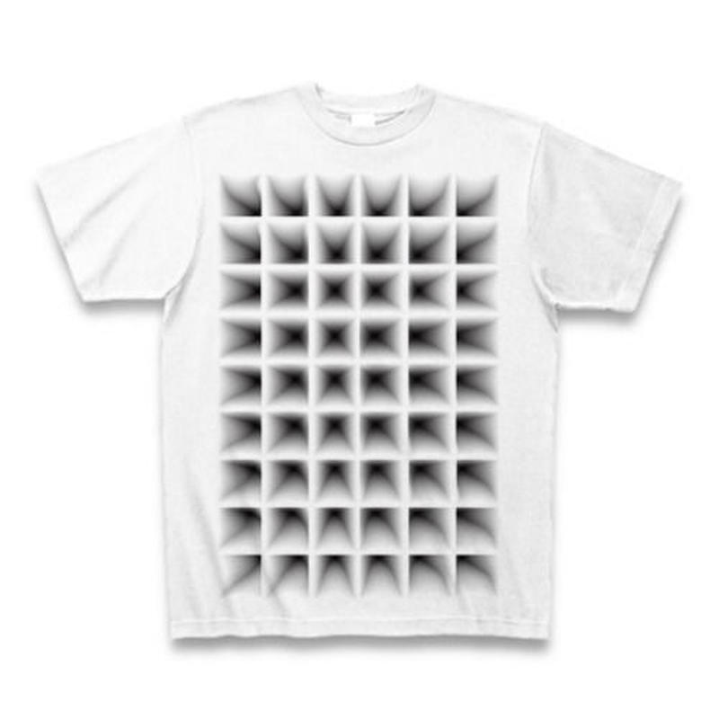 Perspective(グリッド)・Tシャツ白