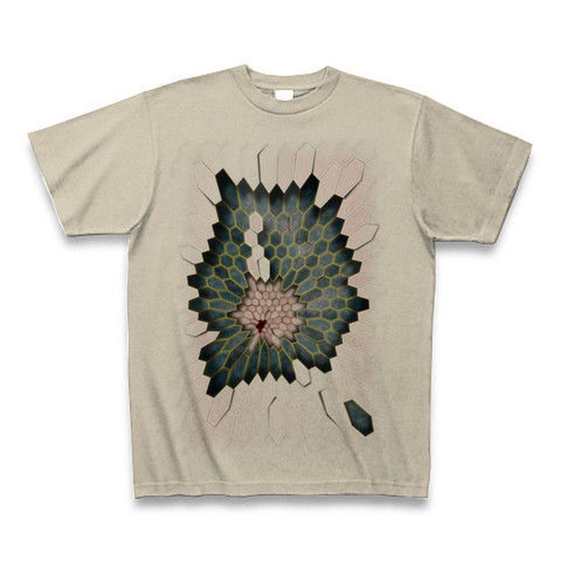 Hex1 ・Tシャツ シルバーグレー