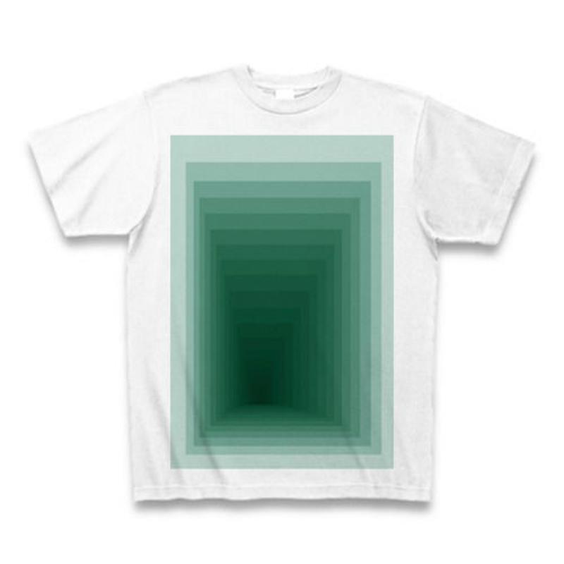 Tシャツ  Perspective(キウイ)ホワイト