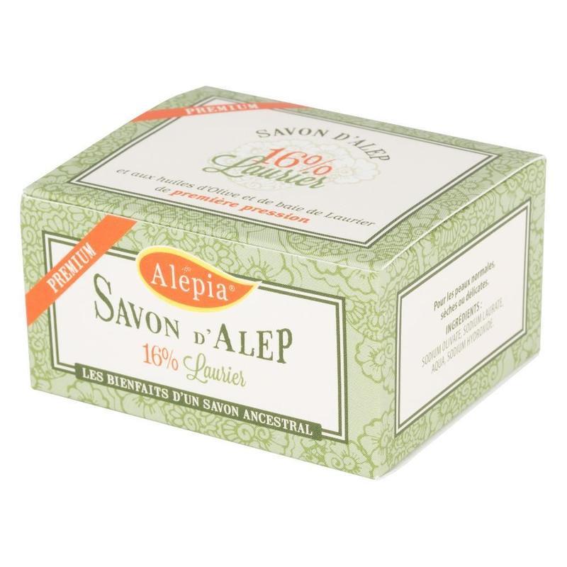 ALEPIA(アレピア) プレミアムソープ ローレルオイル16%