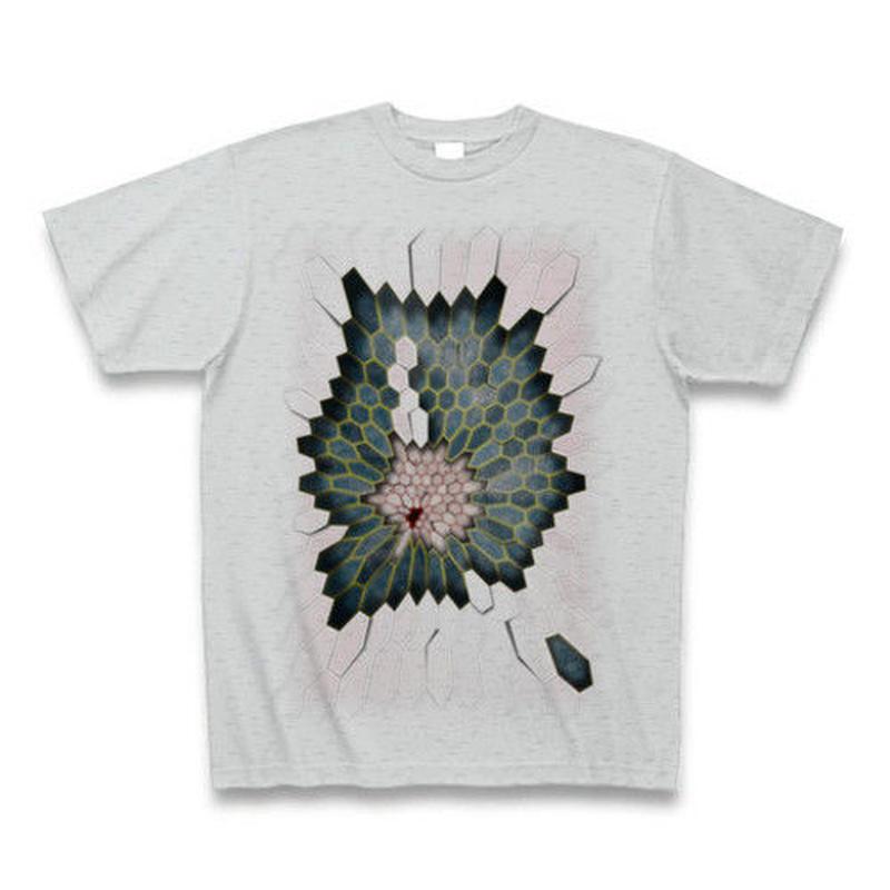 Hex1 ・Tシャツ グレー