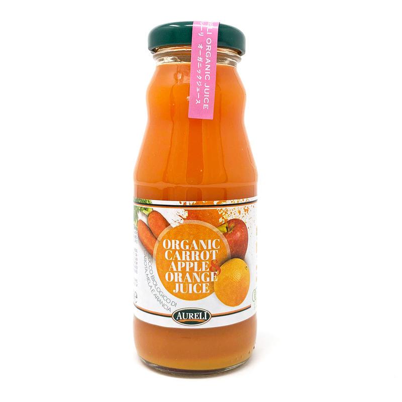 AURELI オーガニック キャロットジュース(アップル&オレンジ)