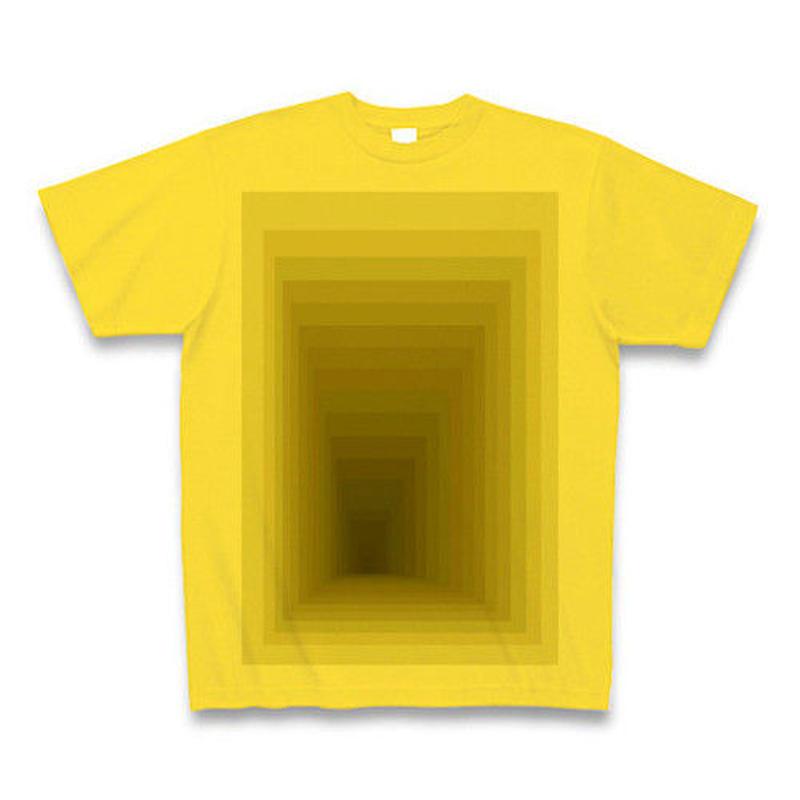 Perspective(ワサビ)Tシャツ マスタード