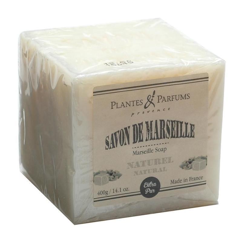 マルセイユソープ400g ナチュラル -Plantes&Parfums -