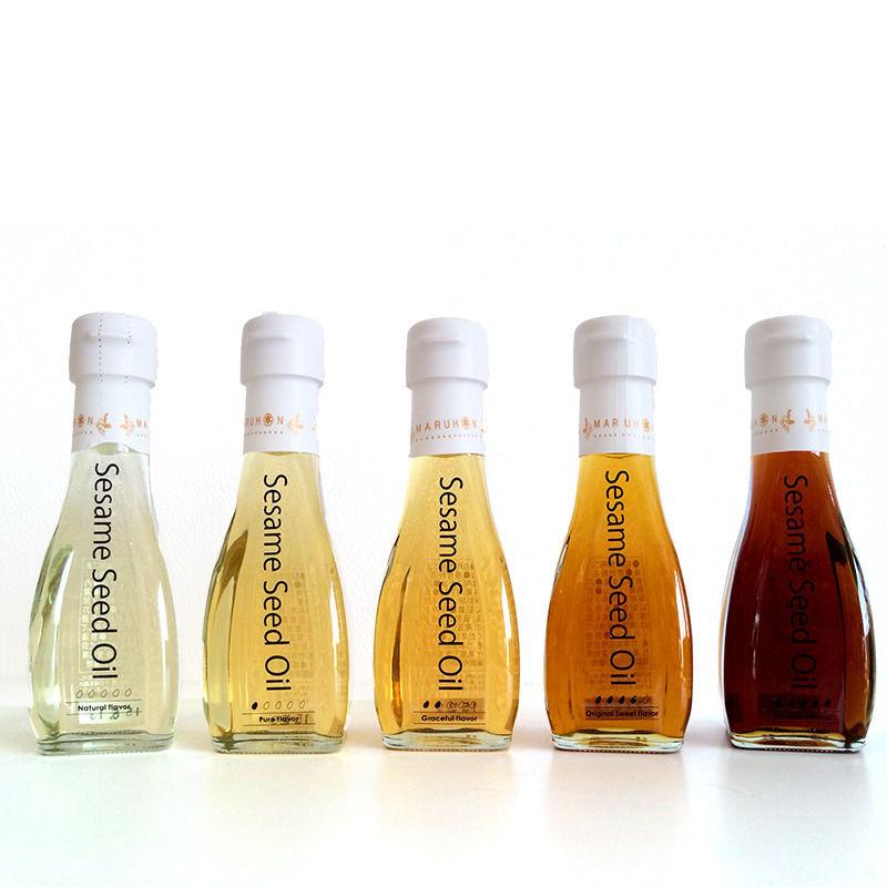 マルホン ごま油「香りのグラデーション」5本ギフトセット