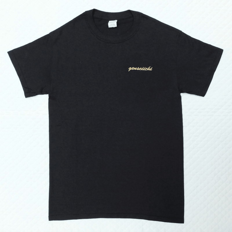 Golden Embroidery Tee (Black)