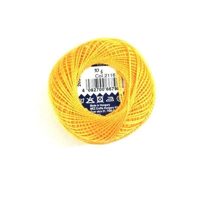 ハンガリー刺繍糸【2116】黄