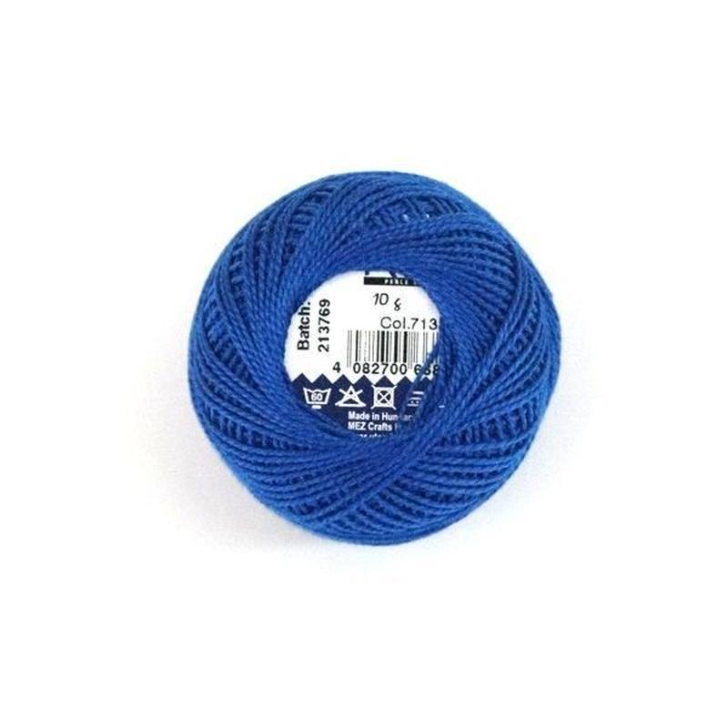 ハンガリー刺繍糸【7133】青