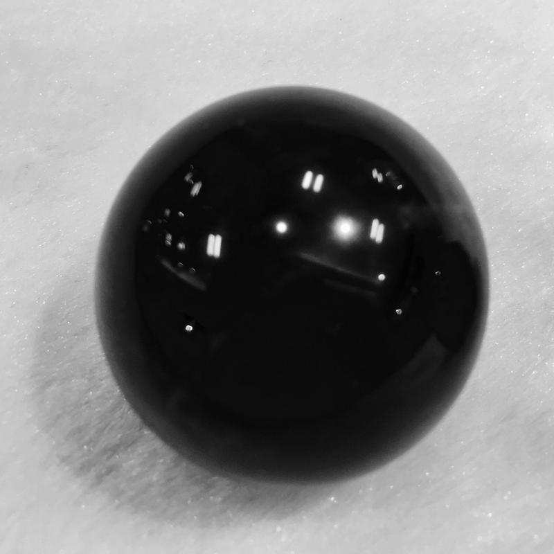 強力な魔除け モリオン丸玉 33.5mm