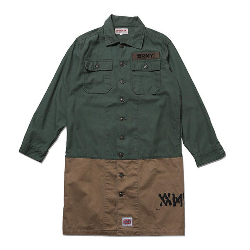 Long Length Army Shirts