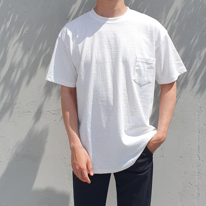 ワッフルTシャツ/全2色