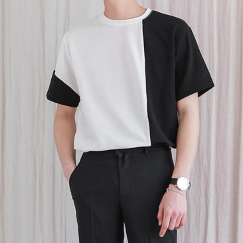モノトーンTシャツ/全3色