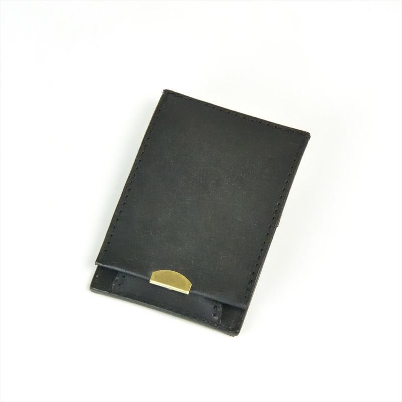 ANNAK プエブロレザーコインケース ブラック AK16TA-D0047
