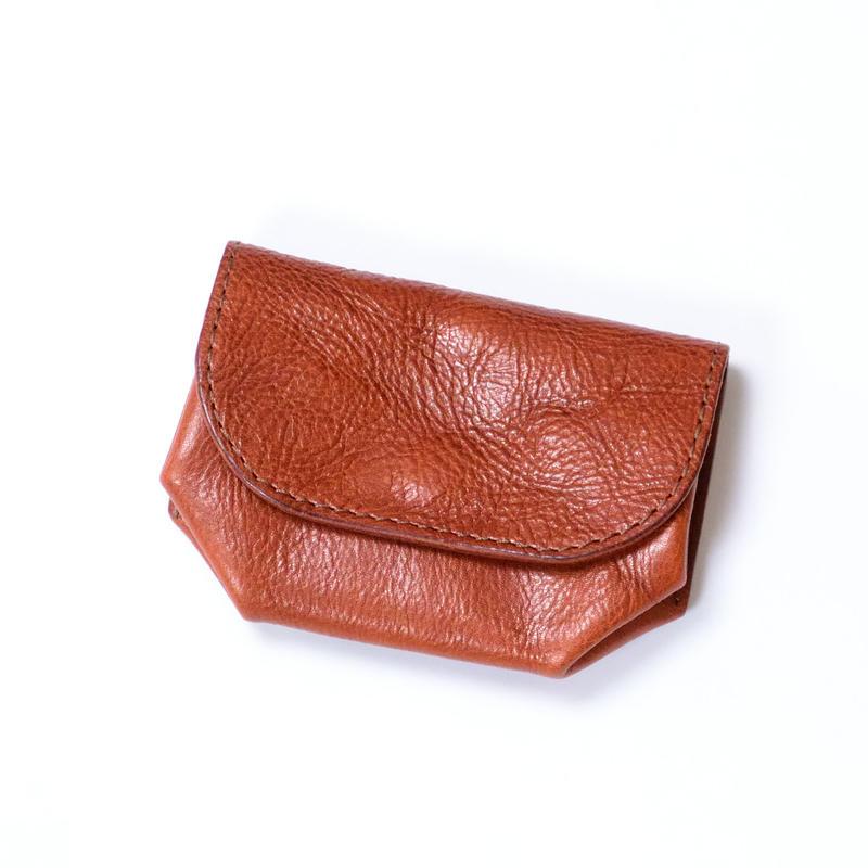 ANNAK アマンダオイル オールレザーコイン&カードマルチケース ブラウン AK18TA-D0056