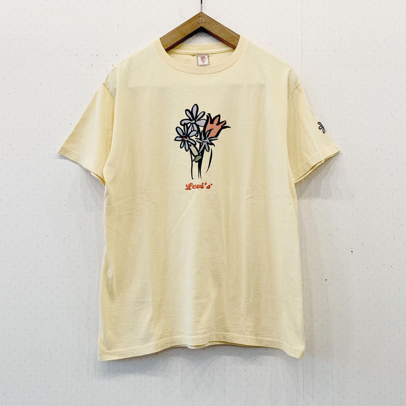 used flower T shirt