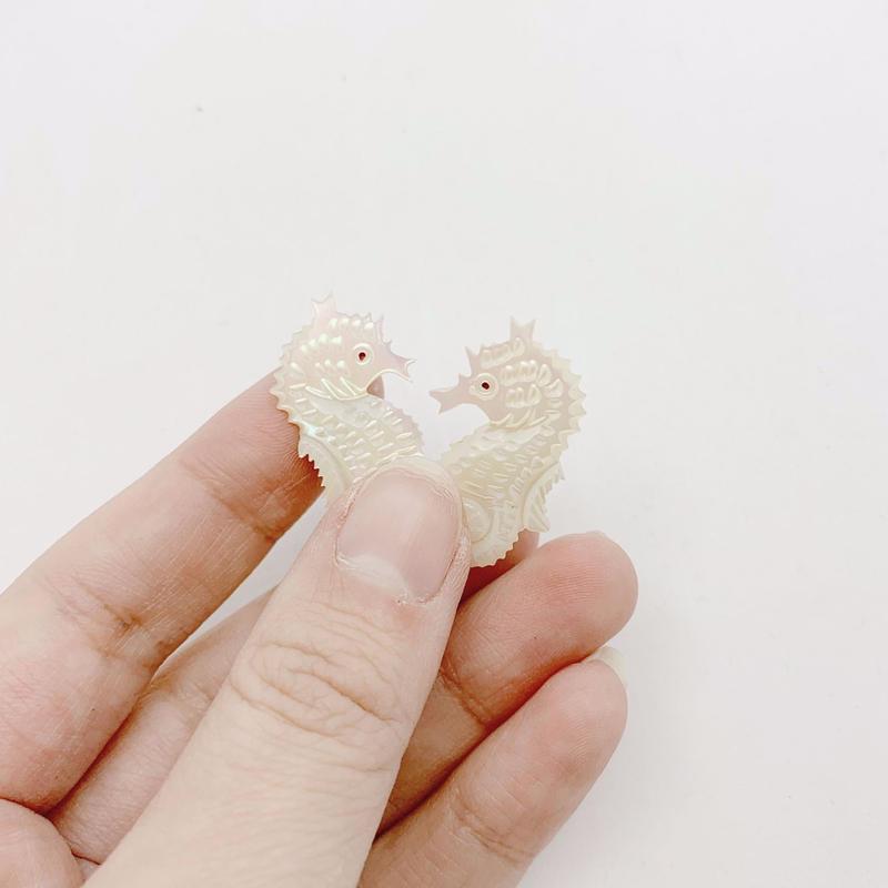 used Seahorse  earring