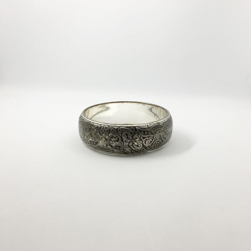 used silver bangle