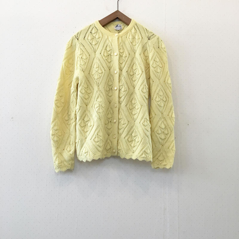 used collor cardigan