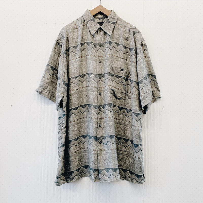 used silk shirt