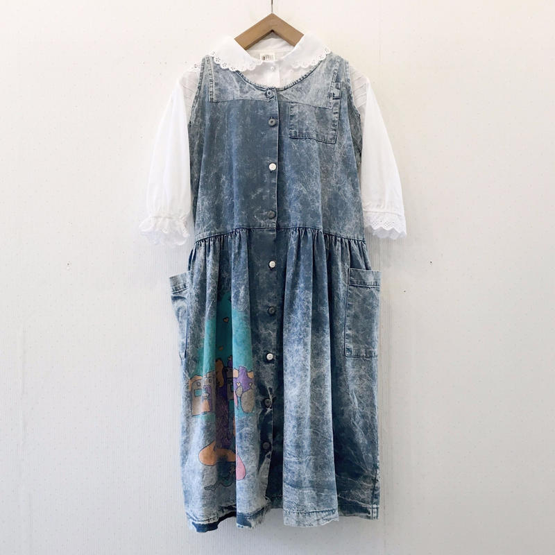 chemical denim dress