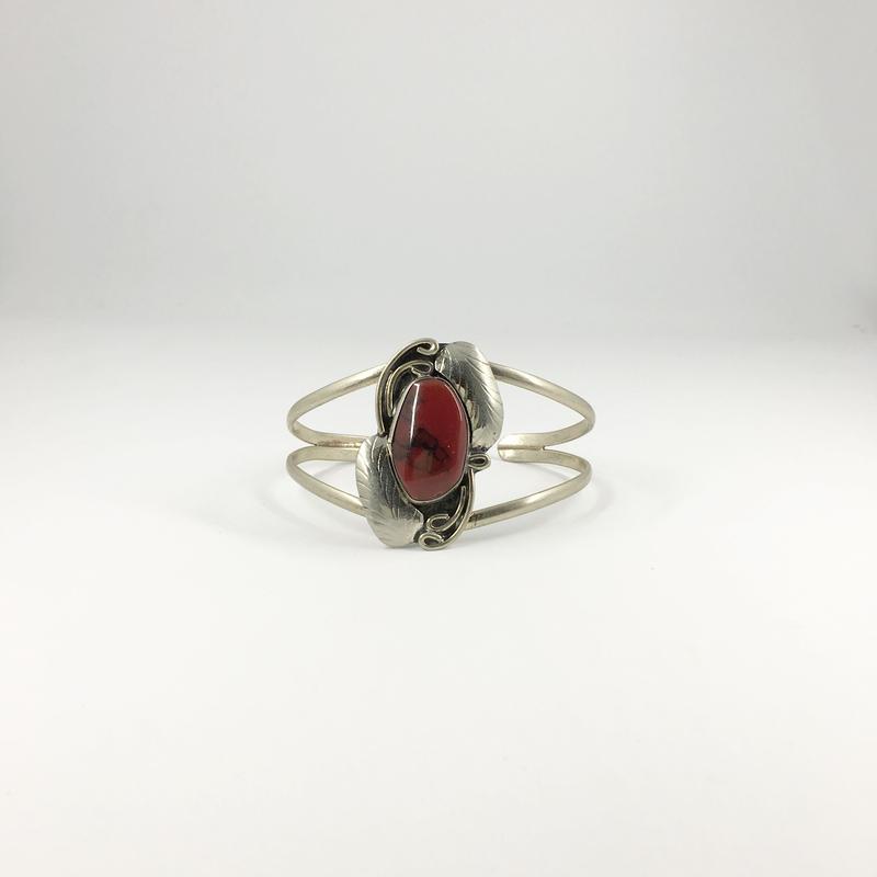 vintage stone bangle