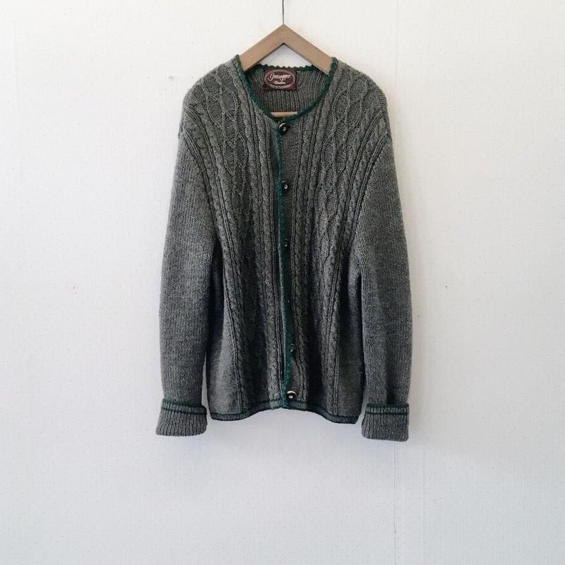 used euro cardigan