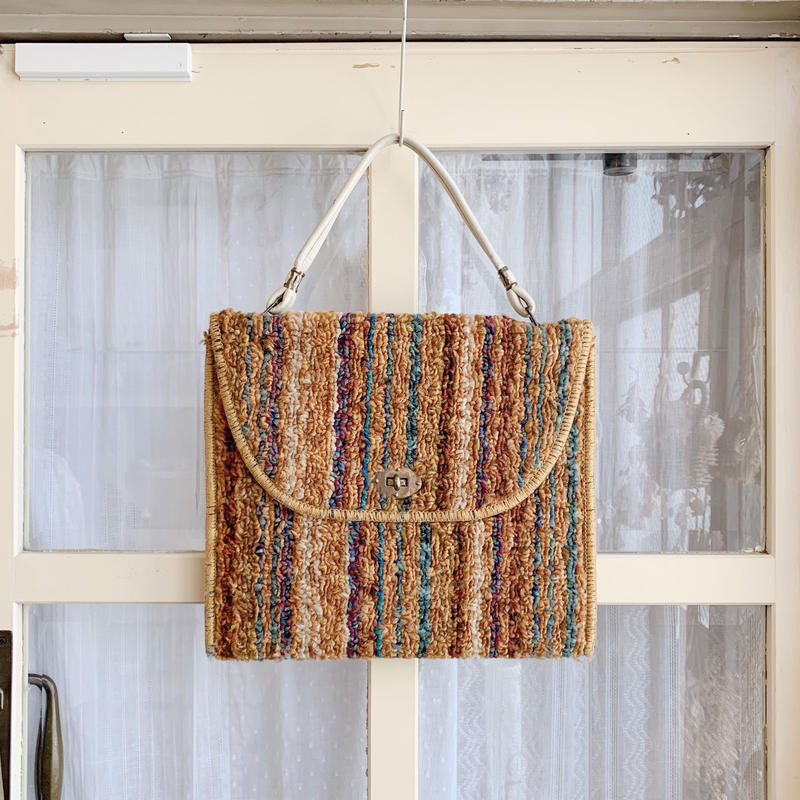 used 70s carpet bag