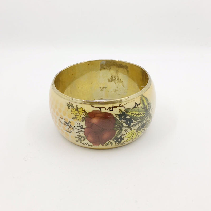 used flower bangle