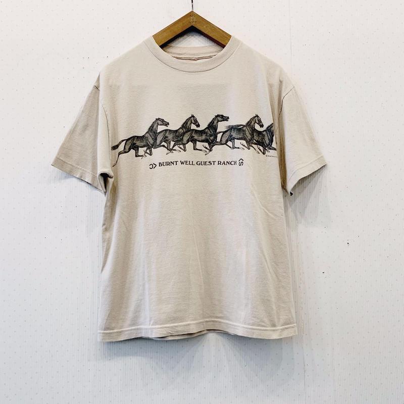 used horse T shirt
