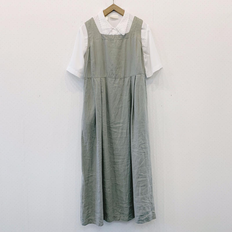 used linen dress