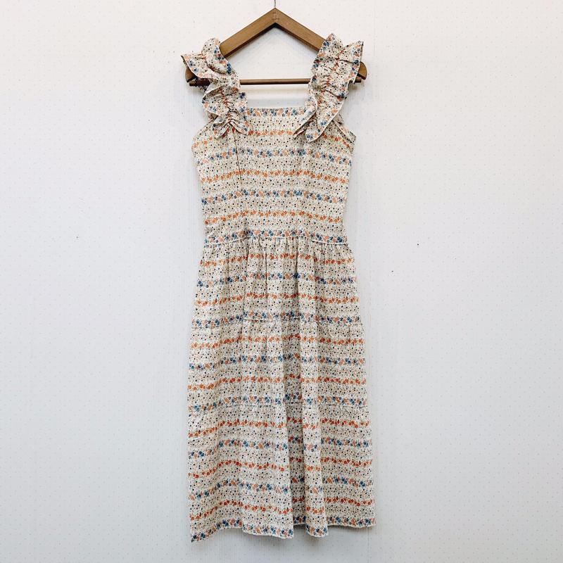 used flower dress