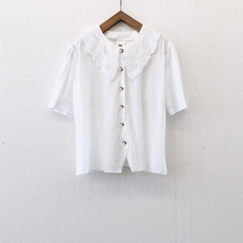 used white blouse
