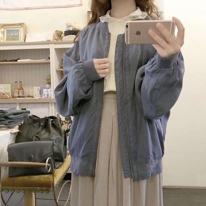 used silk jacket
