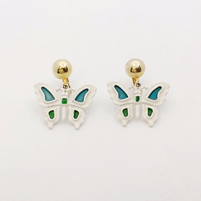 used butterfly earring