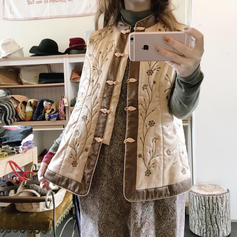 used quilting vest