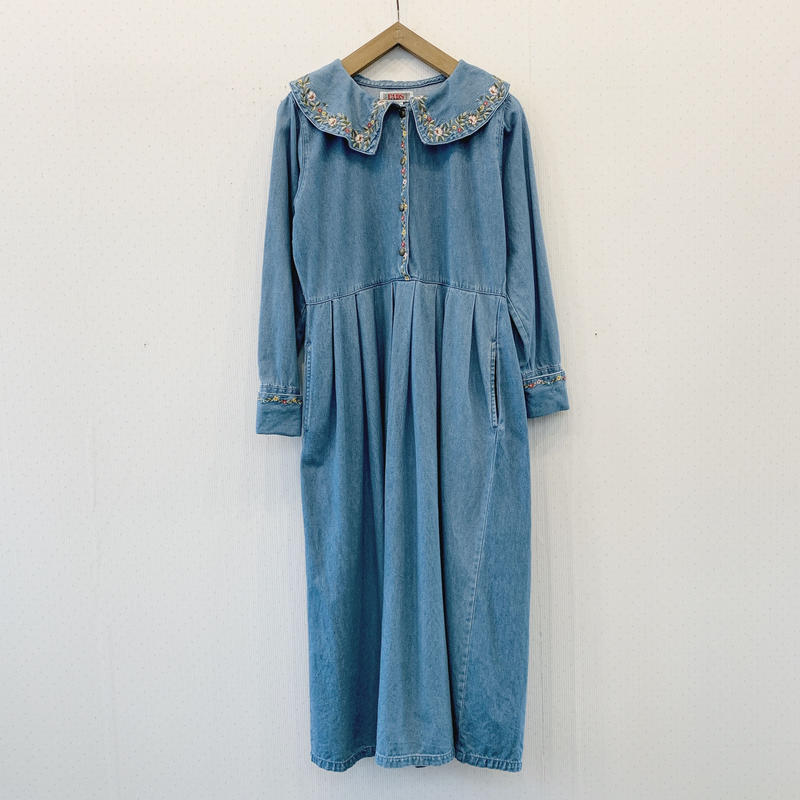 used denim dress